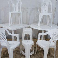Sillas y Mesas de Plastico 1